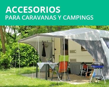 Accesorios para caravanas y campings