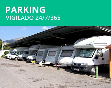 Parking de caravanas vigilado 24/7/365