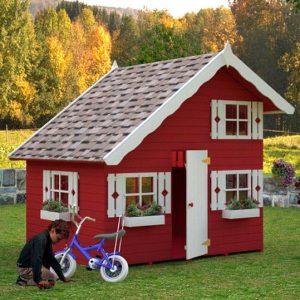 Casita de madera para niños modelo TOM