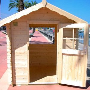 Kiosko de madera 2 x 2