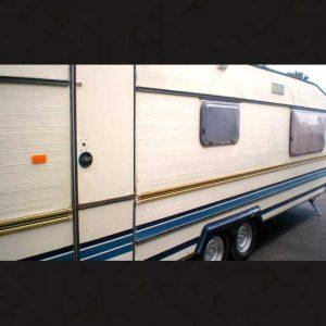 Caravana residencial 6 metros doble eje