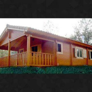 Casa de madera 45 m2