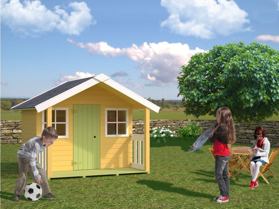 casita de madera para nios modelo felix
