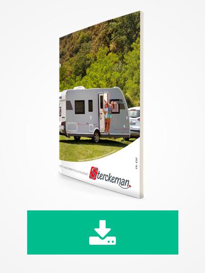 Descarga el catálogo de caravanas Sterckeman