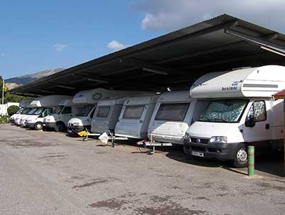 Parking caravanas y autocaravanas Movilrodan