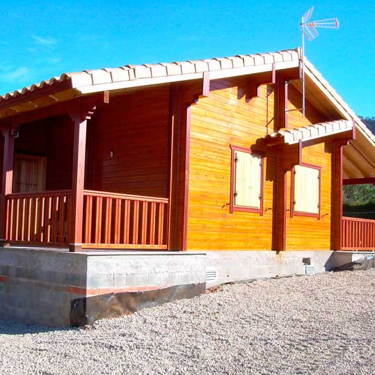 Movilrodan | Wooden house 100m2 + 40m2 porch