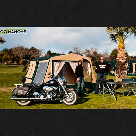 Remolque tienda comanche MC Camp Desert