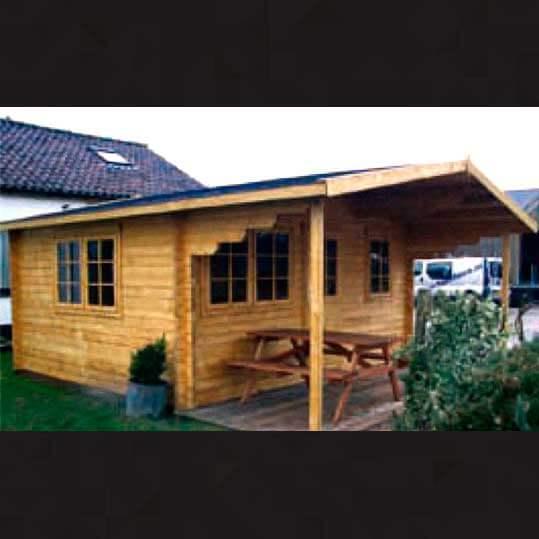 Casa de madera modelo Salou