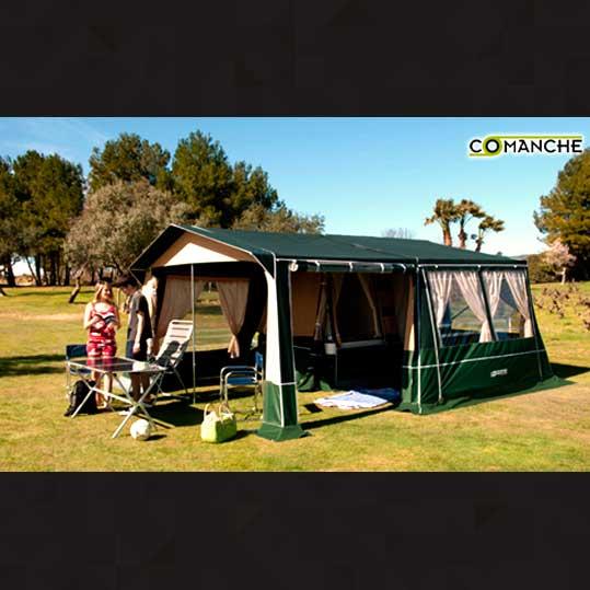 Remolque tienda comanche Kenya Desert